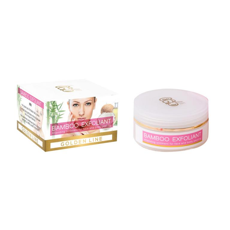 Bamboo Exfoliant: Peeling na tvár a telo